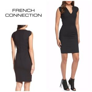 French Connection Lola stretch dress. NWT